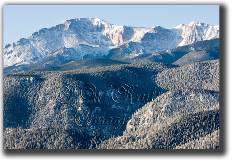 Fresh Snow on Pikes Peak (3/3)