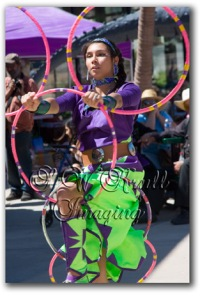 Native American Dancer from the Seven Falls Indian Dance Troupe