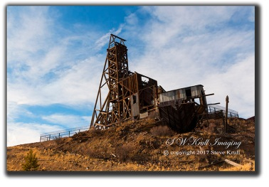 Independence gold mine in Victor Colorado