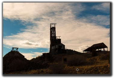 Independence Gold Mine in historic Victor Colorado