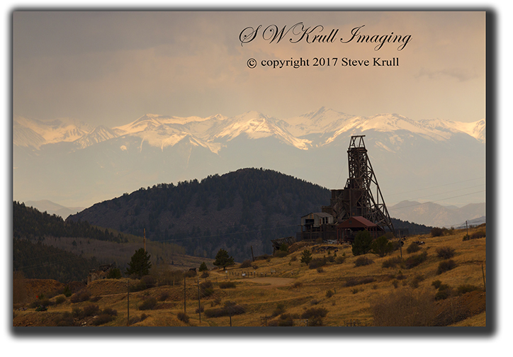 Abandoned gold mine near Victor Colorado