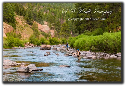 Fly Fishing on the Platte