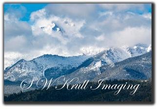 Stormy Pikes Peak