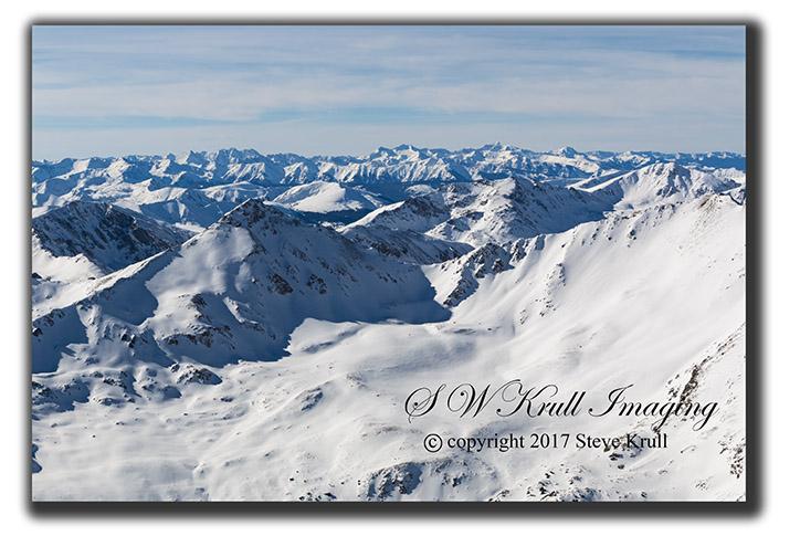 Mount Elbert Summit in Winter