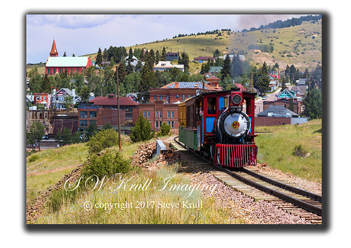 Victor Cripple Creek Train