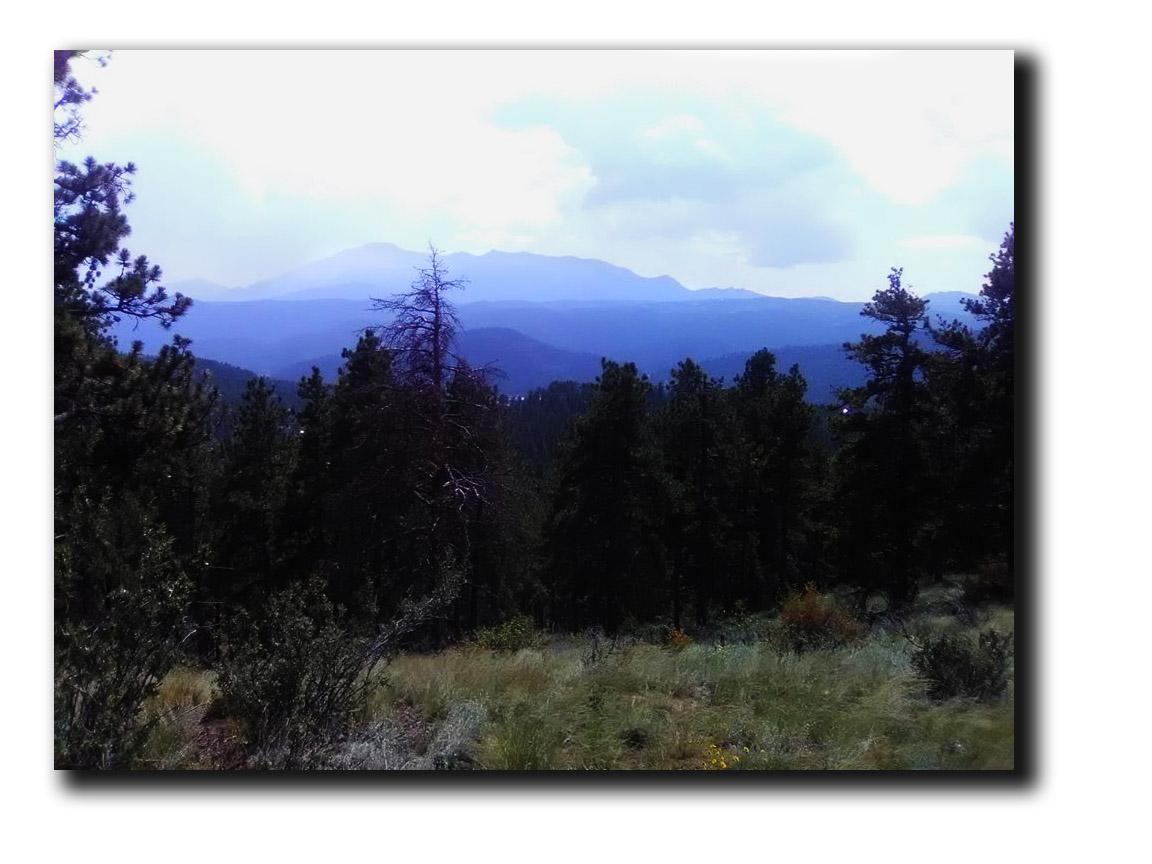 Misty Pikes Peak