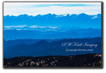 Sange De Cristo Mountain Range