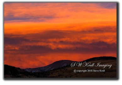 Pikes Peak Sunset