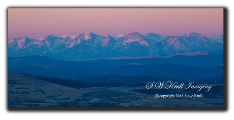 Sangre de Cristo Mountain Alpenglow