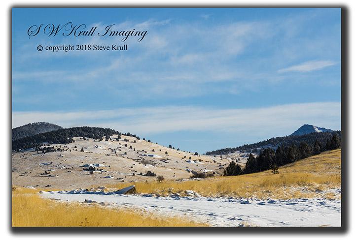 Snow on Pikes Peak