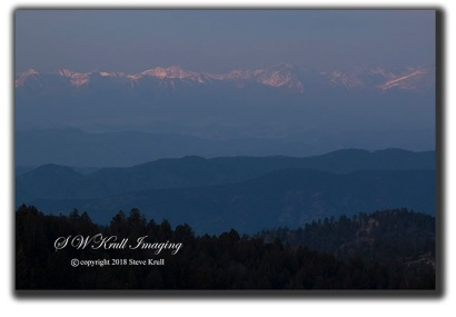 Sangre de Cristo Mountain Morning