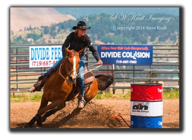 Pretty Barrel Racer