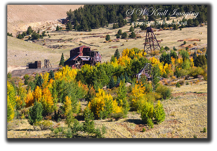 Autumn Color on Historic Mines