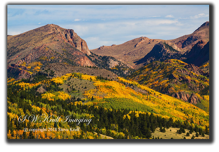 Autumn on Pikes Peak Colorado