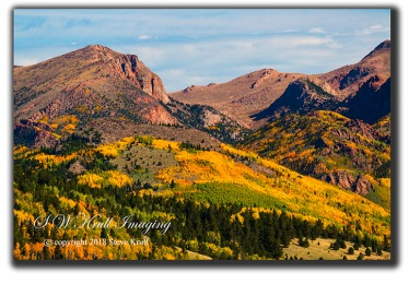 Autumn on Pikes Peak Colorado