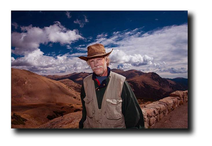 Steve on Trail Ridge Road