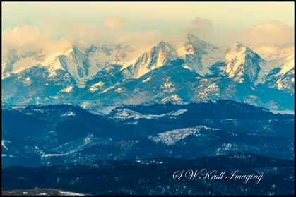 Sunrise on the Sangre de Cristo