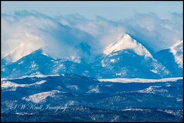 Fresh Snow on the Sangre de Cristo