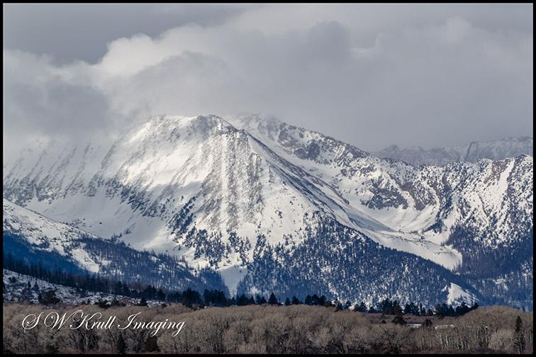 Sangre de Cristo Mountain Range of Colorado