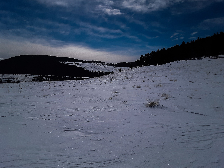 Snowy Colorado Sunrise