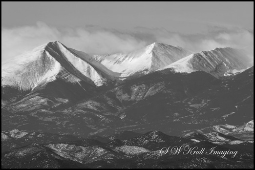 Clouds on the Sangre de Cristo