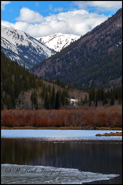 Cottonwood Lake and Cottonwood Creek
