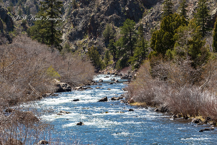 Platte River in Waterton Canyon