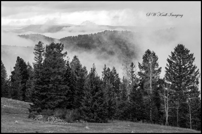 Clouds Forming in the Colorado Rocky Mountains