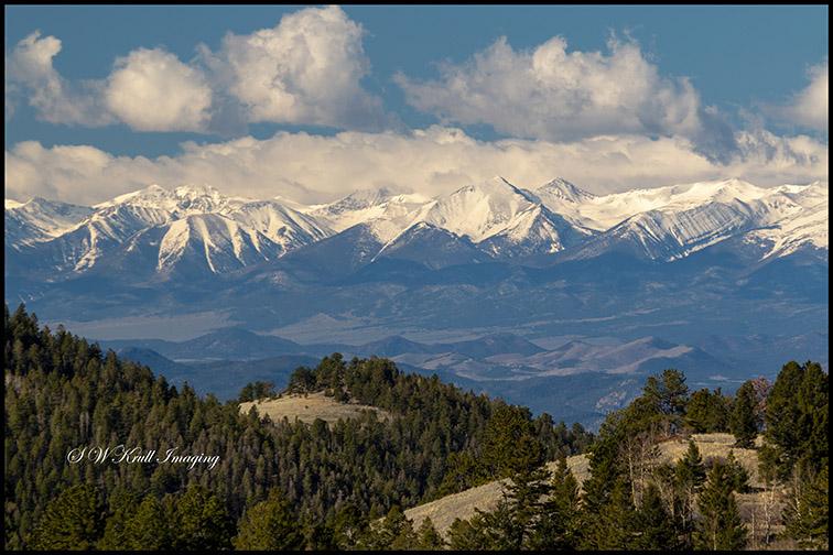 Beautiful Snow Capped Sangre de Cristo Range