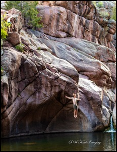 Cliff Divers at Paradise Cove