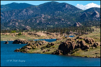 Eleven Mile Reservoir in Summer