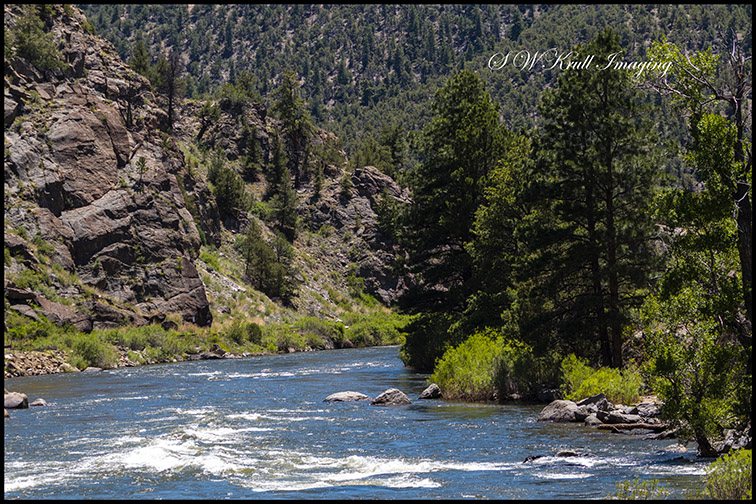 Arkansas River in Brown's Canyon National Monument