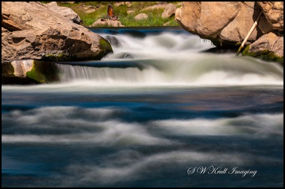 Whitewater in Eleven Mile Canyon Colorado