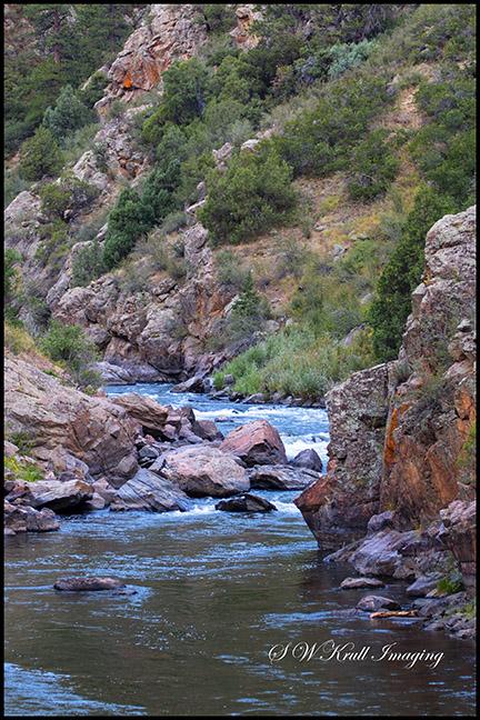 Platte River in Waterton Canyon