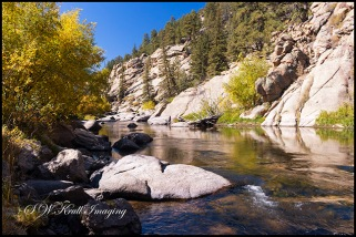 Autumn on the South Platte River