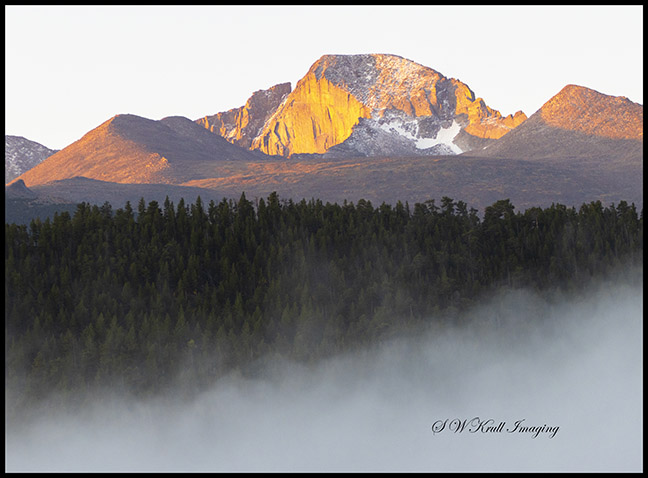 Longs Peak at First Light