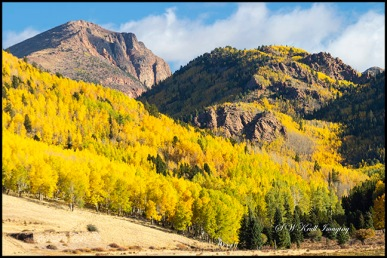 Autumn on the South Face of Pikes Peak