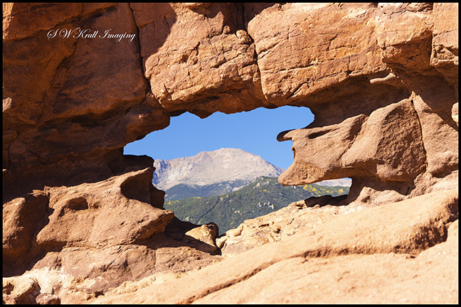 Siamese Twins at Garden of the Gods