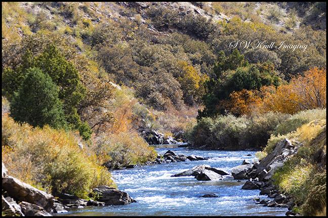 Platte River in Waterton Canyon Colorado