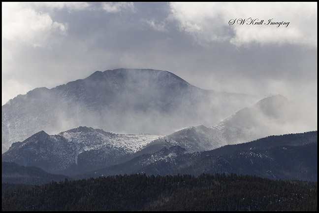 Winter Storm on Pikes Peak