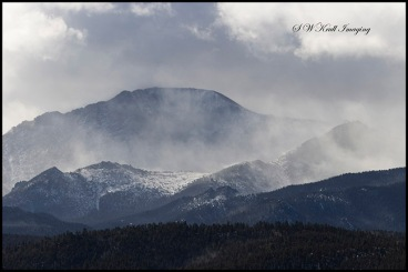 Winter Storm on Pikes Peak