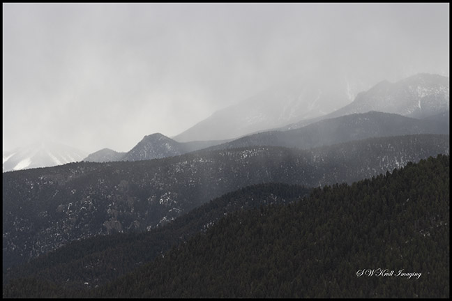 Storm Clouds on Pikes Peak