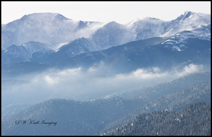 Winter on Pikes Peak
