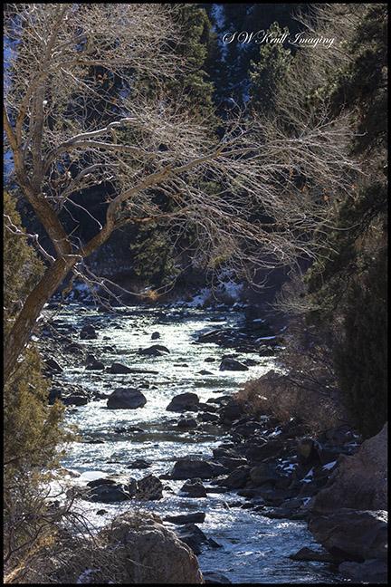 Waterton Canyon by the South Platte River