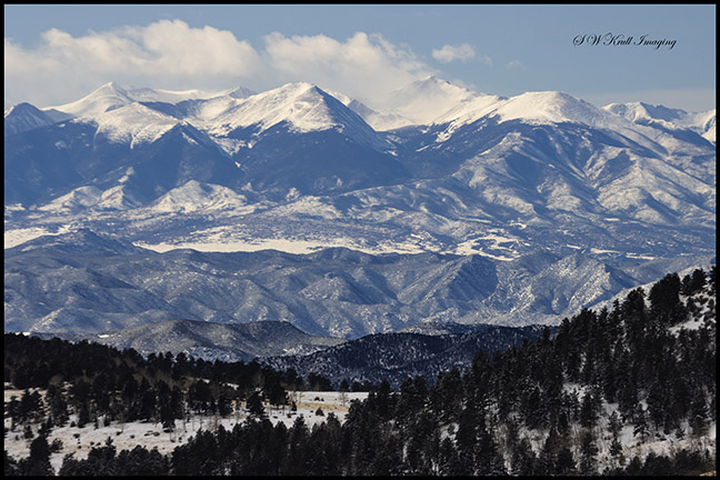 Heavy Snow on the Sangre de Cristo