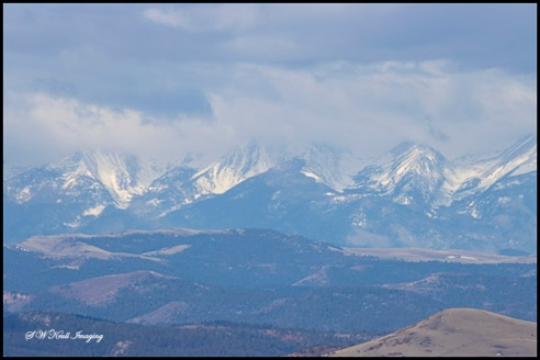 Storm Clouds on the Sangre de Cristo Range