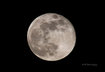 May 7th supermoon over Colorado