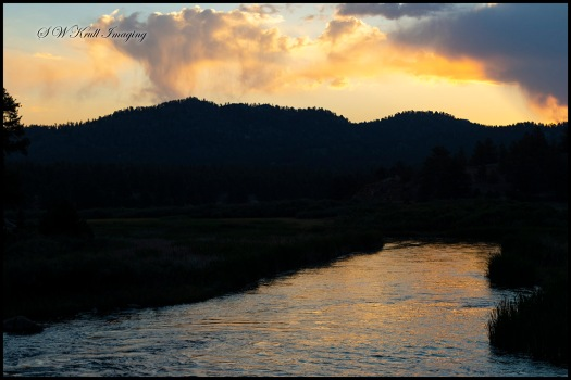 Sunrise on the South Platte River