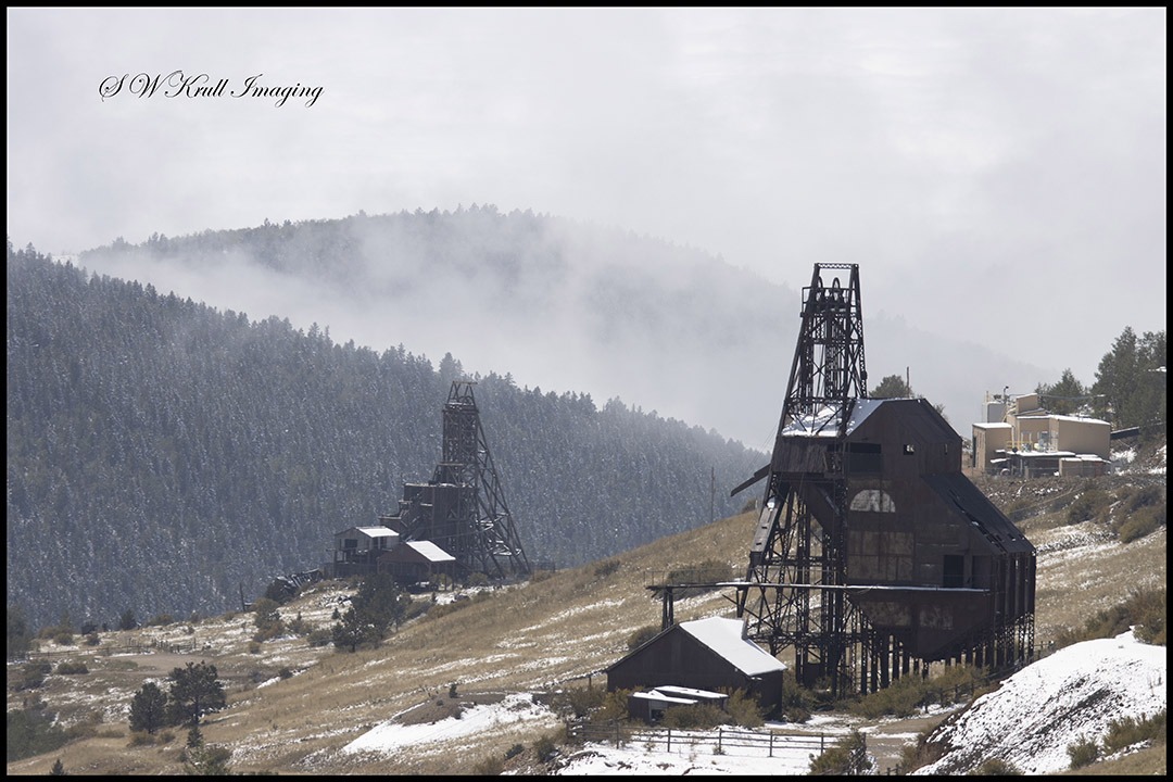 Mines on a Winter Day