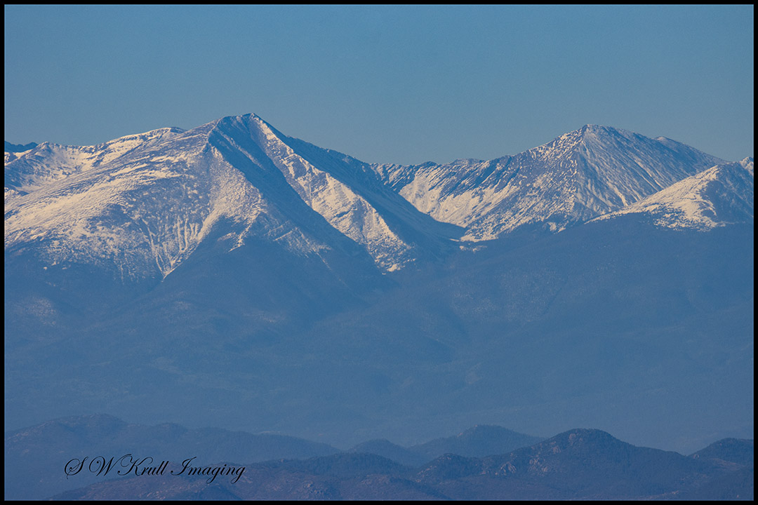 Snow on the Sangre de Cristo Range of Colorado by #swkrullimaging